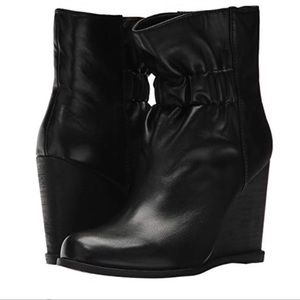 Splendid Rebecca Leather Cinched MidCalf Bootie 9